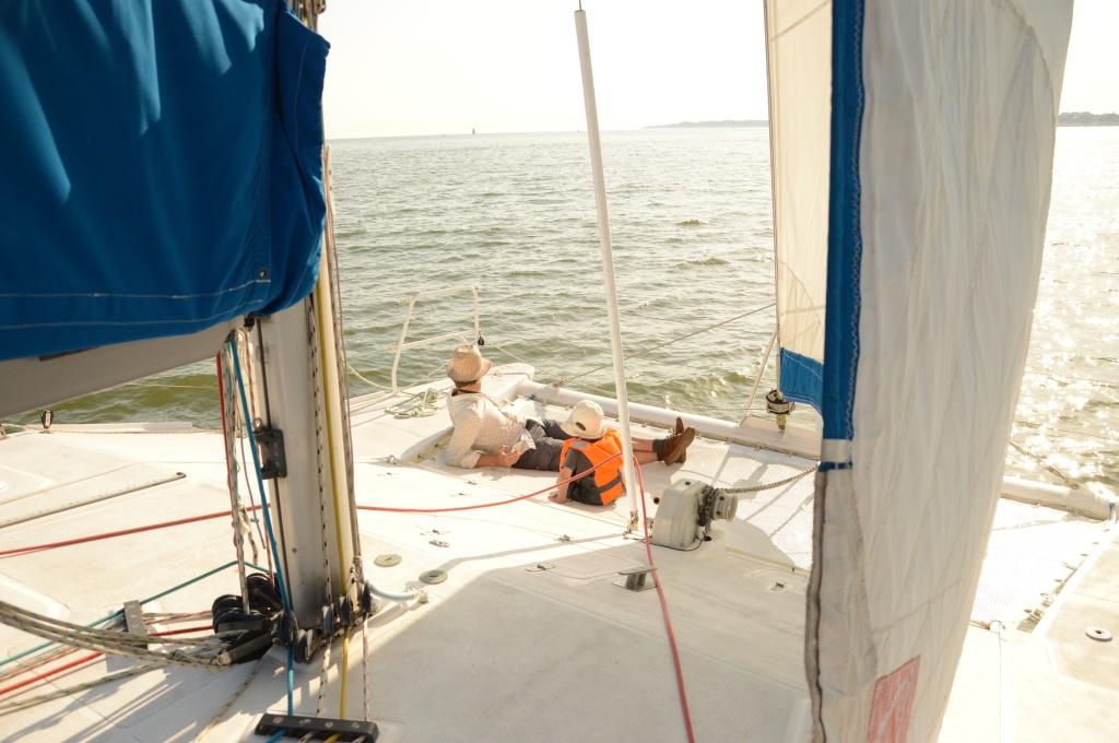 croisière en catamaran à saint-nazaire